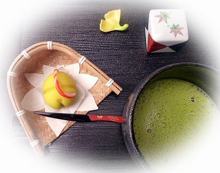祝い鈴&お抹茶