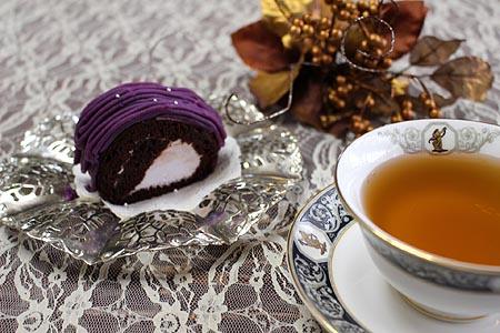 ティ-タイム紫芋ロ-ル