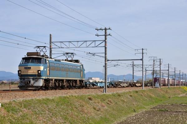 EF66 30牽引の1097レ(2016年3月13日)