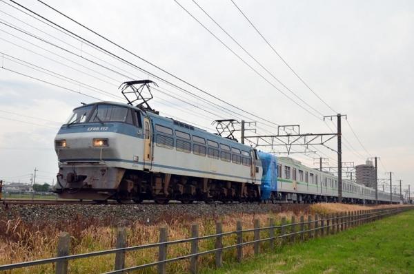 東京メトロ16000系甲種輸送(2015年10月10日)