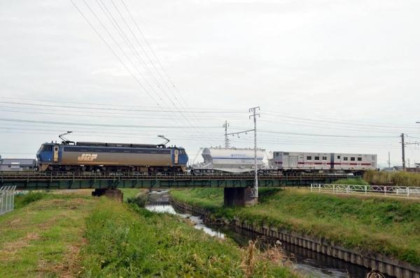 ホキ1100形試運転(2015年11月7日)