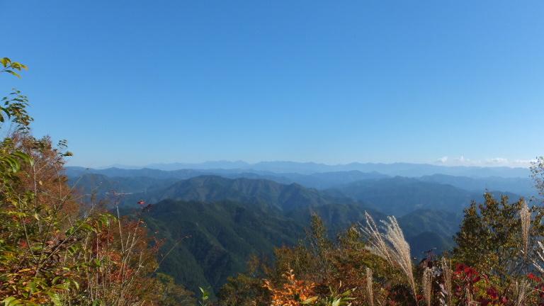 南アルプスの眺望