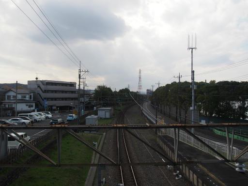 20160321・墓参りと桜空08・競艇場前駅