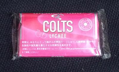COLTS_LYCHEE コルツ・ライチ コルツ COLTS フレーバーシャグ ライチフレーバー 手巻きタバコ RYO シャグ