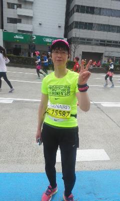 2016.名古屋マラソン裕子