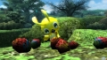 ⑦赤い木の実と黄色い鳥