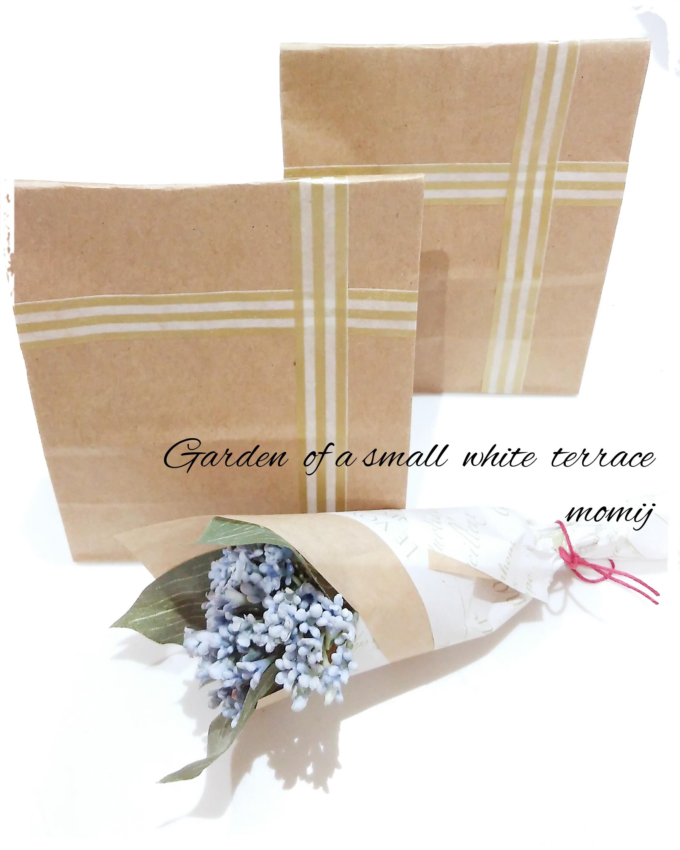 ホワイトデー 紙袋 ラッピング