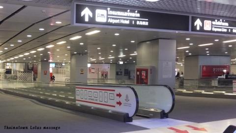 スワンナプーム空港B1 エアポートレールリンク連絡通路