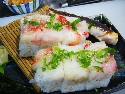 蟹太巻き寿司 (2)