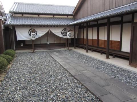 二川宿本陣 玄関式台