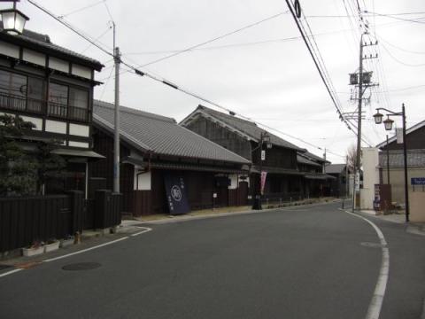 二川宿東の枡形
