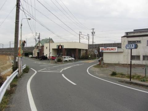 旧東海道 筋違橋東詰