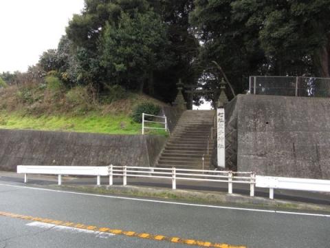 笠子神社入口