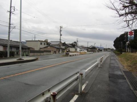 静岡県道173号 湖西市白須賀