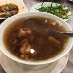 干し大根と鶏のスープ