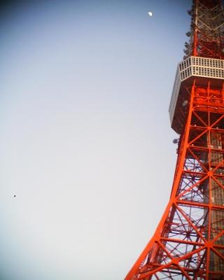 東京タワーと月なのに:R2
