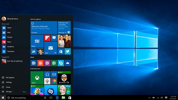 Windows10の無償アップグレード