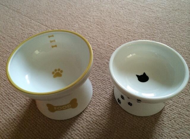 猫壱 ハッピーダイニング 犬用脚付フードボウル 5