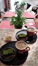 京都 吉祥庵 抹茶チョコケーキで1