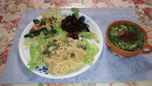 ワンプレートランチ&スープ