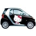 キティちゃんの軽自動車