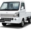 白い軽トラック