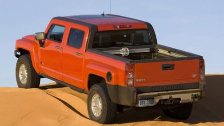 赤色の軽トラック