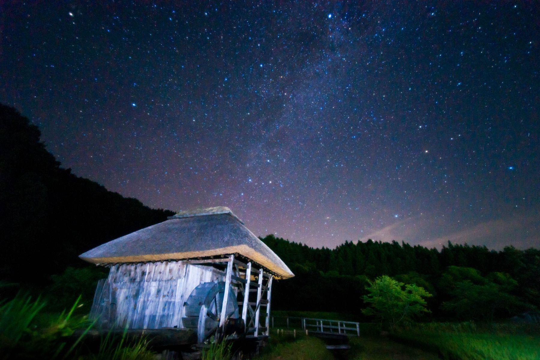 011夜空風景入選
