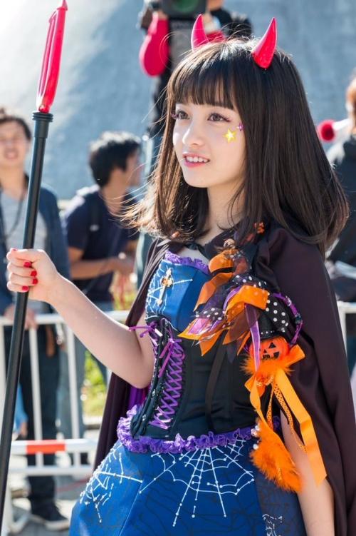 橋本環奈、ハロウィンのコスプレが可愛すぎる!www3