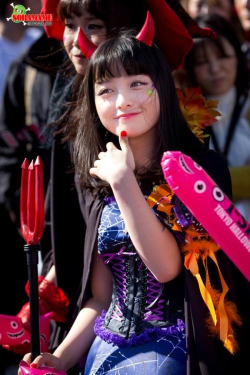 橋本環奈、ハロウィンのコスプレが可愛すぎる!www10