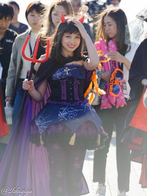 橋本環奈、ハロウィンのコスプレが可愛すぎる!www8