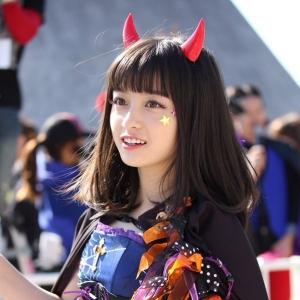 橋本環奈、ハロウィンのコスプレが可愛すぎる!www