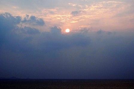 雲隠れ3月20日18時21分 DSC04717