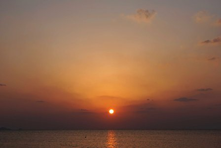 夕陽3月28日18時47分 DSC04267