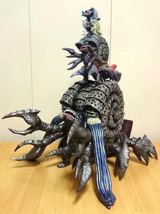 ガシャポン ウルトラヒーロー500ウルトラ怪獣DX ウルトラマンティガ 光と闇の最終決戦セット19