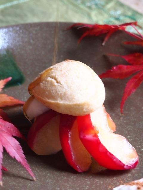 りんごのショートケーキ6