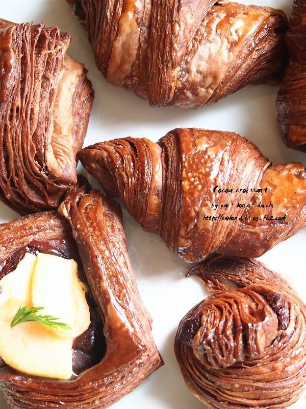 チョコクロワッサンとデニッシュ 1