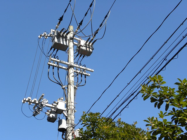 電線の画像