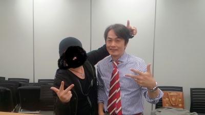 石田衣良さんとラップ