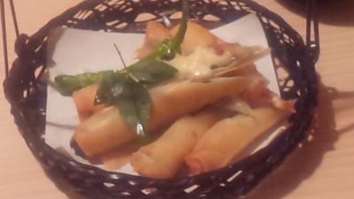 味噌チーズ春巻き