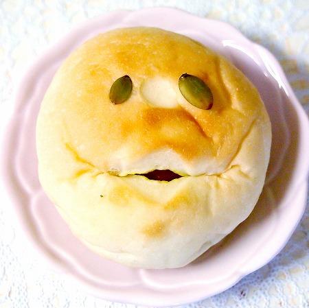 かぼちゃあんぱん04@小麦と酵母 満 2014年10月