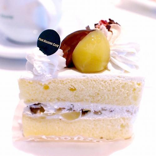 マロンショートケーキ02@FOURSEASONS CAFE