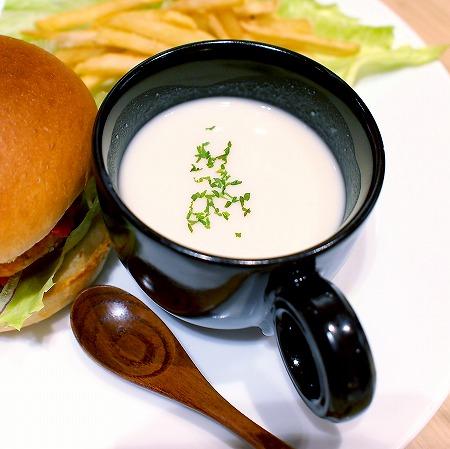ビーガンミートハンバーガー06@Cafe BARBAPAPA