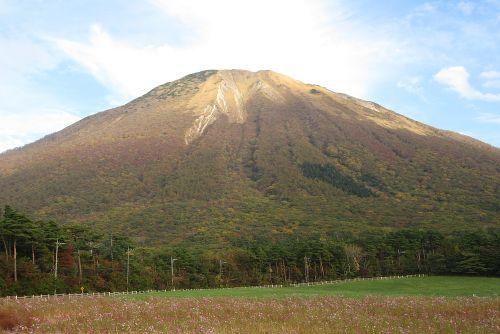 間近からみた大山