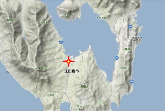 2)江田島町南部 旧警察