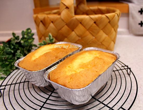 リベンジパウンドケーキ