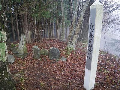 伏馬田城跡