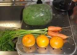 野菜~頂きました20151027