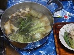 野菜鍋20151030-昼
