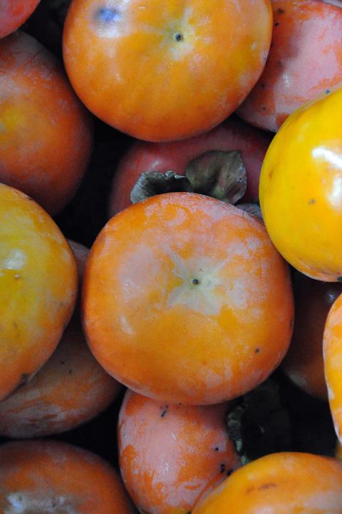 柿の山盛り